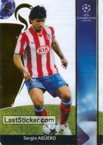 Sergio Aguero (Club Atletico De Madrid)