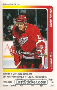 Shawn Burr (Detroit Red Wings)