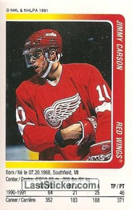 Jimmy Carson (Detroit Red Wings)