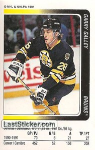 Garry Galley (Boston Bruins)