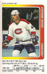Stephane Richer (Montreal Canadiens)