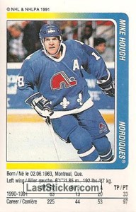 Mike Hough (Quebec Nordiques)