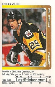 Phil Bourque (Pittsburgh Penguins)