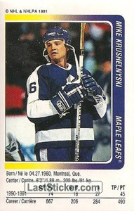 Mike Krushelnyski (Toronto Maple Leafs)