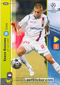 Benzema (Forwards)