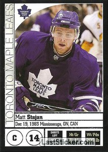 Matt Stajan (Toronto Maple Leafs)