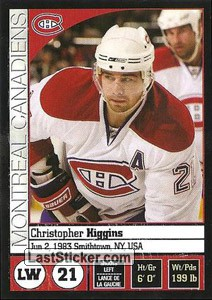 Christopher Higgins (Montreal Canadiens)