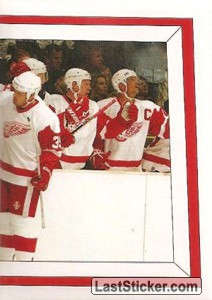Action Photo (2 of 2) (Detroit Red Wings)