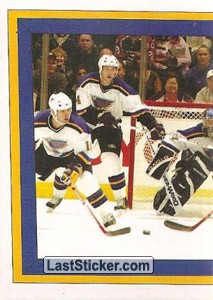Action Photo (1 of 2) (St. Louis Blues)