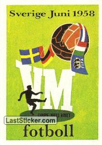 World Cup 58 Poster (History)