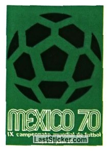 Poster Mexico 1970 (History: WC 1970)