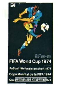 Poster West Germany 1974 (History: WC 1974)