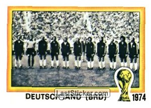 Champions West Germany (History: WC 1974)