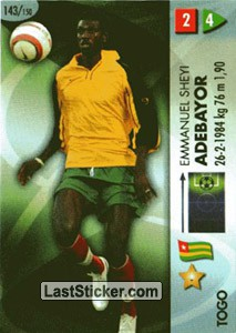 Adebayor (Togo)
