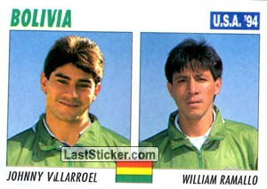 Johnny Villarroel / William Ramallo (Bolivia)