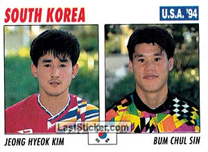 Jeong Hyeok Kim / Bum Chul Sin (South Korea)