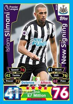 Islam Slimani (Newcastle United)