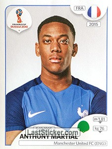 Anthony Martial (France)