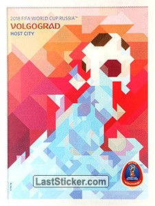 Volgograd (Host cities' posters)