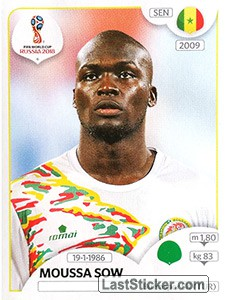 Moussa Sow (Senegal)
