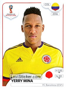 Yerry Mina (Colombia)