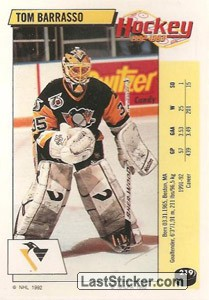 Tom Barrasso (Pittsburgh Penguins)