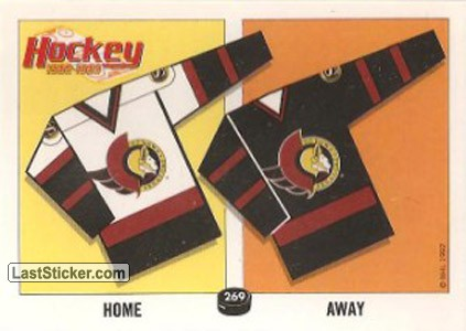 Ottawa Senatos Jersey (The 1992 Newcomers)
