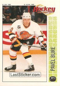 Pavel Bure (1992 NHL's Top Rookies)