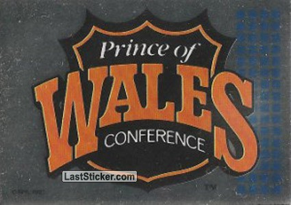 Prince of Wales Conference Logo (1992 All-Star Game)