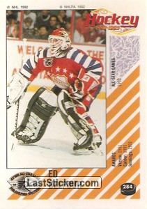 Ed Belfour (1992 All-Star Game)
