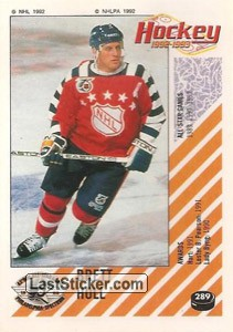 Brett Hull (1992 All-Star Game)