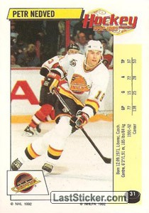 Petr Nedved (Vancouver Canucks)