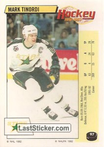Mark Tinordi (Minnesota North Stars)