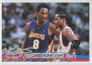 2001 vs Philadelphia (Kobe`s Final Rivals)