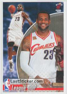 LeBron James (USA) (NBA 2010 Awards)