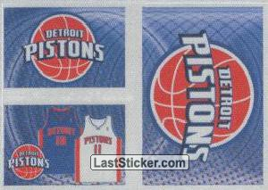Team kit (Detroit Pistons)