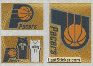 Team kit (Indiana Pacers)