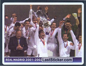 Real Madrid 2001-2002 (UEFA Champions League legend)