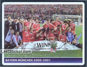 UEFA Champions League 2000-2001 winner - Bayern Munchen (Deutschland) (UEFA Champions League legend)