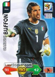 Gianlugi Buffon (Italy)