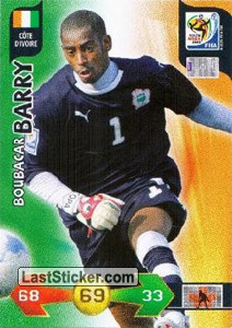 Boubacar Barry (Ivory Coast)
