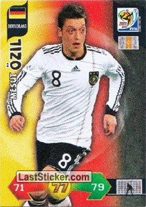 Mesut Ozil (Germany)
