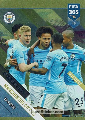 Manchester City FC - 5th English Title (Manchester City FC)
