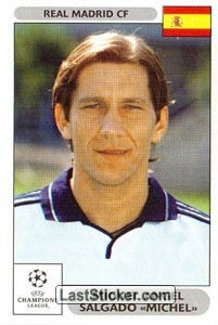 "Miguel Angel Salgado ""Michel"" (Real Madrid CF)"