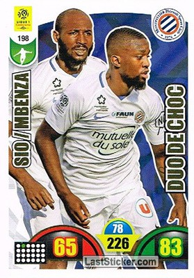 Giovanni Sio / Isaac Mbenza (Montpellier Hérault SC)