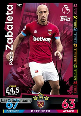 Pablo Zabaleta (West Ham United)