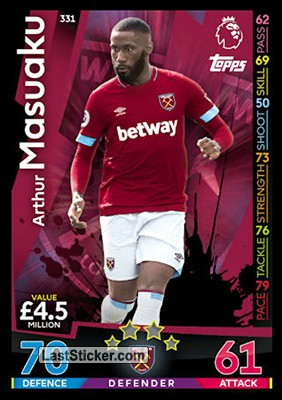 Arthur Masuaku (West Ham United)