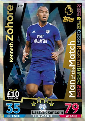 Kenneth Zohore (Cardiff City)