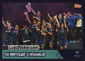 Olympique Lyonnais - 2017/18 Winners (UEFA Women's Champions League)