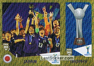 Japan / Trophy (U-20 Women's world cup)